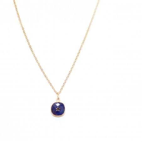 Collier Mira bleu