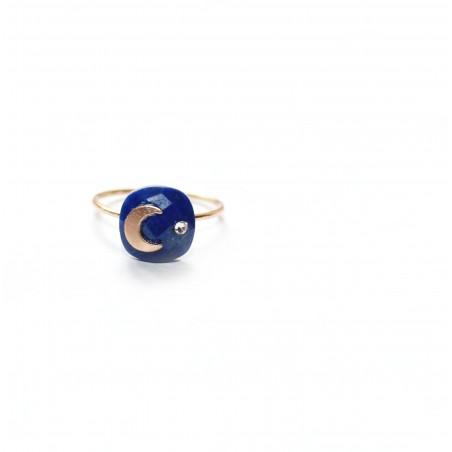 Bague Moonlight bleue
